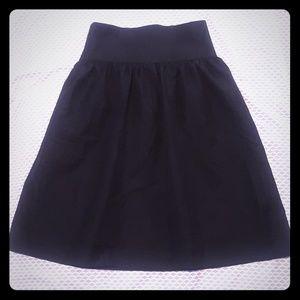 Lagerfeld A-Line Skirt